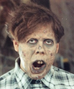 Zombie makeups were different back in the day...