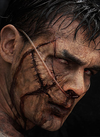 hospital zombie prosthetic