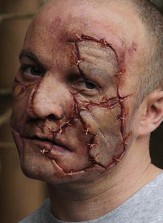 patchwork skin prosthetics