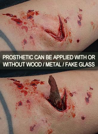 Shrapnel Wound Prosthetic