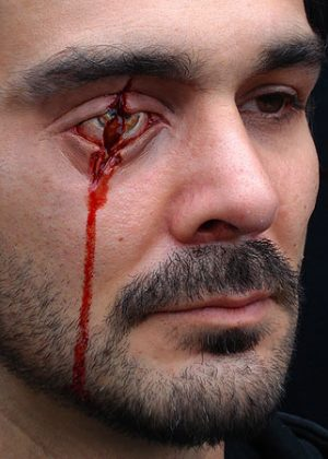 Slashed/Stabbed Eye Prosthetic