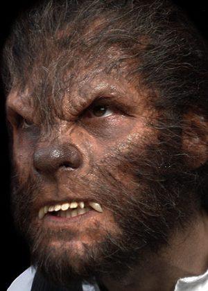 werewolf prosthetic