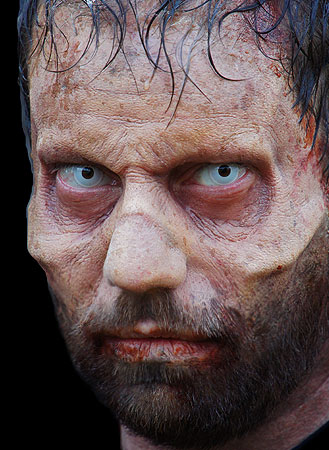 Zombie Brow Prosthetic - Ready Made & Easy to Apply