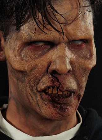 Zombie Prosthetics Kit with FX Makeup & FREE DVD Guide