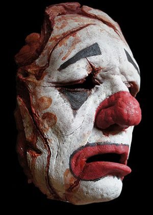 clown mask prosthetic
