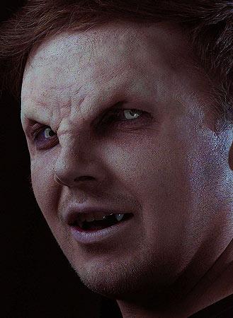 vampire prosthetic brow
