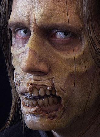 exposed teeth zombie prosthetics