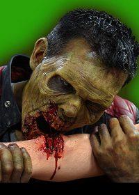 zombie bite prosthetic