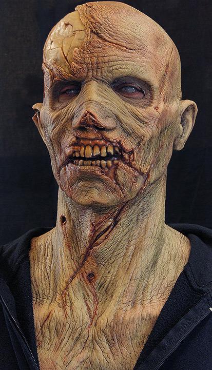 halloween silicone mask
