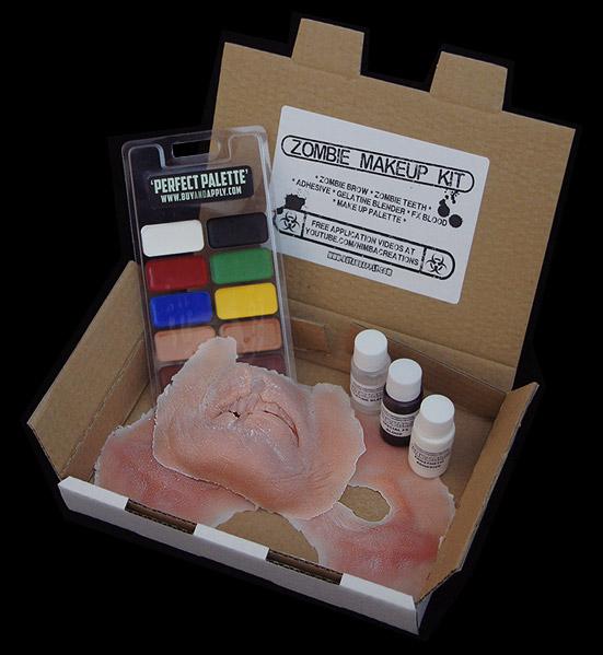 Professional zombie makeup kit