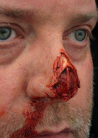zombie-nose-prosthetic