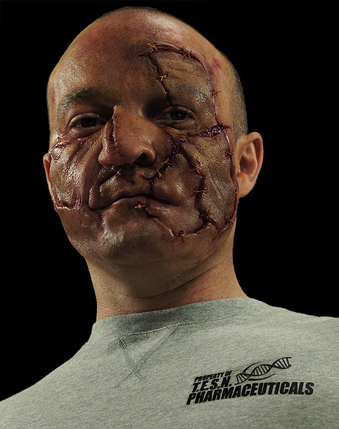 how to make prosthetic skin