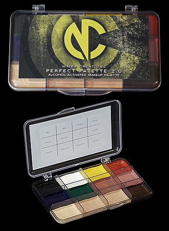 alcohol activated makeup fx palette