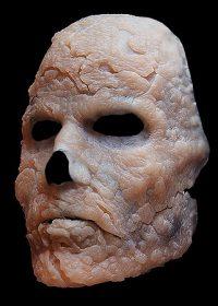burned zombie prosthetic
