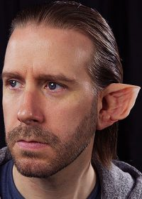 werewolf ears prosthetics