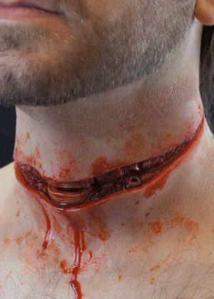 Cut Throat Prosthetic